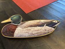 Franklin Mint Mallard Limited Edition Wall Plate Dish Tray A. J. Rudisill. Plate