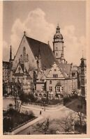 "Leipzig Germany Church ""Thomaskirche""  Real Photo Vintage Postcard *Free Ship*"