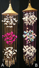 """Pangansin Sea Shell Wind Chime (Moonshells); 36 Inch Style """"A"""""""