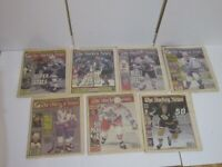 1997 The Hockey News SET of 7 Bobby Orr 50th Edition Years On Ice Gretzky Howe