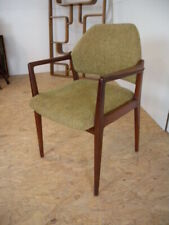 60er 70er Schreibtisch Stuhl Chair Armlehnstuhl Sessel Teakholz Mid Century