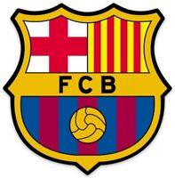 Futbol Club Barcelona FC Barcelona (Soccer)(Football) Logo Type Die-Cut MAGNET