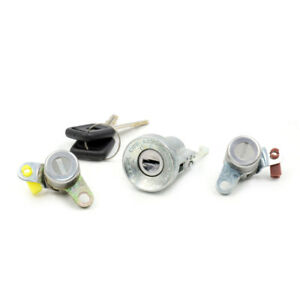 Fit Isuzu Pickup Truck KB42 TFR 1986-96 Ignition Switch Cylinder & Door Lock Set
