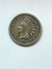 1860 Indian Head Cent Penny - VF- Extra Fine Condition  ORIGINAL NICE SEE PICS
