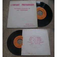 J.J.WERNER - L'Enfant Préfabriqué Rare French EP Private Press Folk Pop