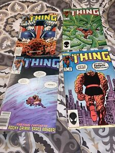 The Thing Comic Book Lot #7,21,22,23, 1984