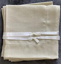 New listing Vintage Linen Napkins Set Of 7 Table Linens Brand New