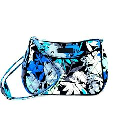 Vera Bradley Little Crossbody Blue Camofloral Design