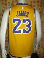 Ancien MAILLOT NIKE LOS ANGELES LAKERS #23 LEBRON JAMES T44 Basketball Basket