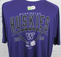 Mens Washington Huskies Dri-Fit Shirt Size XL