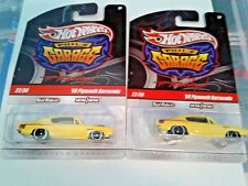 hot wheels 68 plymouth barracuda chases phils garage