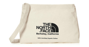 THE NORTH FACE Musette Bag shoulder black logo organic cotton from Japan NM82041