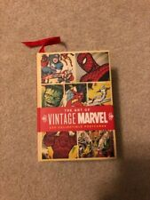 The Art Of Vintage Marvel 100 Collectible Postcards 2007 Release