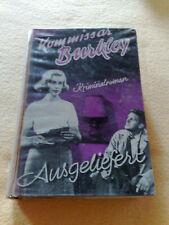 Ausgeliefert - Kommissar Burkley Leihbuch 50er 60er Jahre