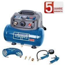 Scheppach Kompressor HC06 1200W 8bar/ 6L+umfangreiches Zubehör/portabel+kompakt