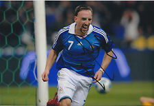 Franck RIBERY Signed Autograph Photo AFTAL COA France World Cup Genuine RARE