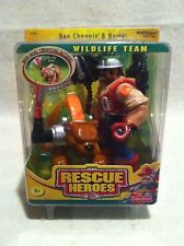 Rescue Heroes Wildlife Team Ben Choppin & Burly! FACTORY SEALED!