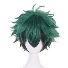 Wig My Hero Academia Deku Izuku Midoriya Short Hair Cosplay Hairpiece Ukd1