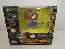 WORLD TECH TOYS ED HARDY INDOOR FLYING HELICOPTER BATTERY OPER NEW IN BOX