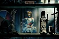 Annabelle Doll Horror Movie - 2019 Film Wall Art Poster / Canvas Pictures