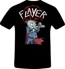 Dungeons and Dragons Mind Flayer Slayer Logo Tshirt limited Edition Tee D&D