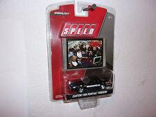 "NEW.""GREENLIGHT SPEED"" 1989 BLACK PONTIAC FIREBIRD CAR & TRADING CARD..2008"