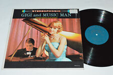 GIGI and THE MUSIC MAN Jacques Darieux and his Orchestra LP Palace PST-609 VG