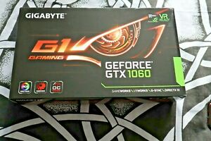 GIGABYTE NVIDIA GeForce GTX 1060 6GB GDDR5 Graphics Card