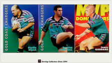 1997 Dynamic Rugby League Fatty Fun Pack Base Team set-GOLD COAST CHARGERS(8)