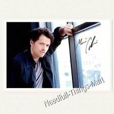 Misha Collins als Castiel aus Supernatural  -  Autogrammfoto laminiet [A02] 