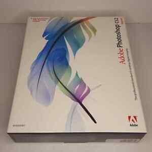 Adobe Photoshop CS2 Upgrade PC CD-ROM Software Box Key