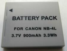 Replacement NB-4L NB4L 900mAh Battery for Canon IXUS 60 65 70 75 80 55 30 40 50