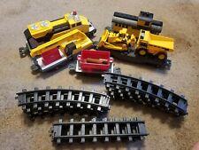 Caterpillar CAT Motorized Construction Express Train Set EUC Diesel