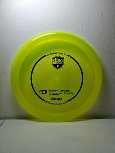 Discmania C-line PD - 175g - Yellow with Blue Foil Stamp - Brand New