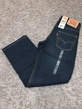 NWT Boy's Size 7X Levi's 511 Slim Denim Dark Blue Jeans