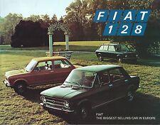 Auto Brochure - Fiat - 128 - Sedan Wagon  (AB991)