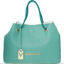 VALENTINO BY MARIO Aquamarine Reversible Tote Bag 3 in 1 100% Authentic New