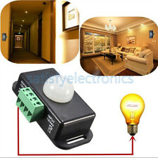 Automatic Dc 12v 24v 8a Infrared Pir Motion Sensor Switch For Led Light Stylish
