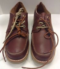 Timberland Earthkeepers Rugged Ox Oxford LT Brown Men 10 M $130 NIB New TB09254B