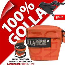 New Golla Camera Case +Strap Orange for Digital SLR DSLR Cameras Water Resistant