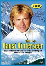 3 DVDs * HANSI HINTERSEER BOX 2 - TEIL 4 - 6 # NEU OVP %