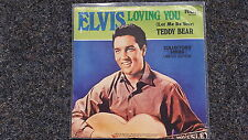 Elvis Presley - Loving you/ Let me be your teddy bear US 7'' Single