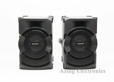 Sony SHAKEX10 High Power Home Audio System Speakers ONLY