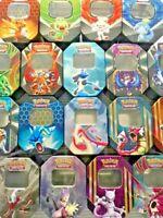 MEGA Pokemon Cards Gift Tin Bundle x 100! GUARANTEED GX - EX - V - Prime - HOLO