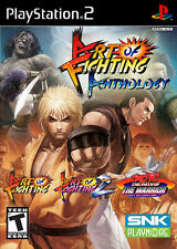 Art of Fighting Anthology (2007) Brand New Factory Sealed USA PlayStation 2 Game