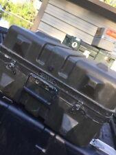 "Thermodyne Shok-Stop 18x15x12""Hinged Lid Hard Plastic Transit Ship Case&Foam"