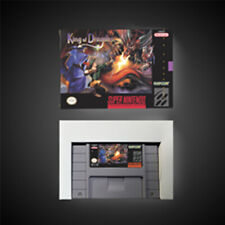 King of Dragons USA NTSC Version With Retail Box Action Game Super Nintendo SNES