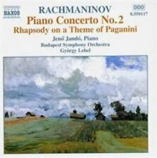 Rachmaninov Piano Concerto No 2 Rhapsody on a Theme of Paganini
