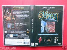 raro dvd cirque du soleil quidam circo circus amsterdam franco dragone rare dvds
