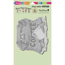 Stampendous House Mouse Cling Stamp - Coffee Break HMCR114